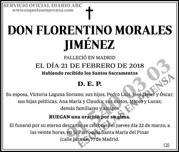 Florentino Morales Jiménez